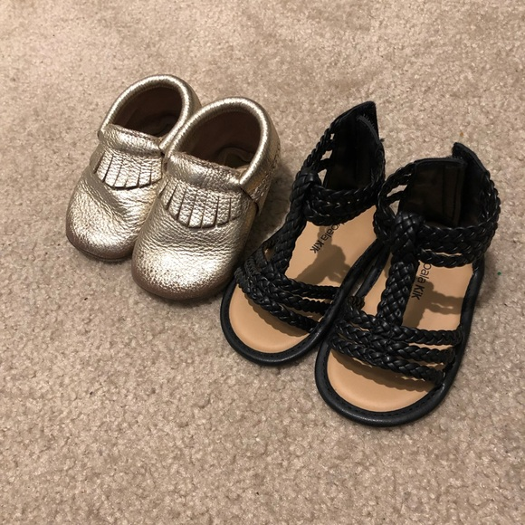 Other - Baby Shoe Sandal Moccasin Lot